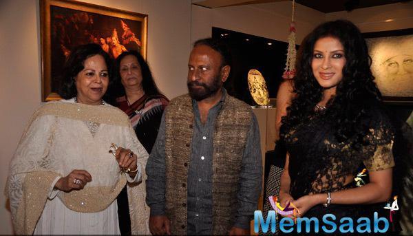 Ketan Mehta And Nandana Sen Visit Cosmic Heart Exhibition For Promoting Rang Rasiya