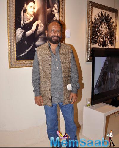Ketan Mehta Strikes A Pose At Cosmic Heart Exhibition For Promote Rang Rasiya