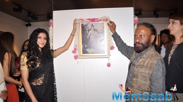 Nandana Sen And Ketan Mehta Promoted Rang Rasiya At Cosmic Heart Gallery