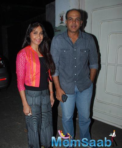 Celeb Strikes A Pose During The Special Screening of Panjabi 3D Film Chaar Sahibzade