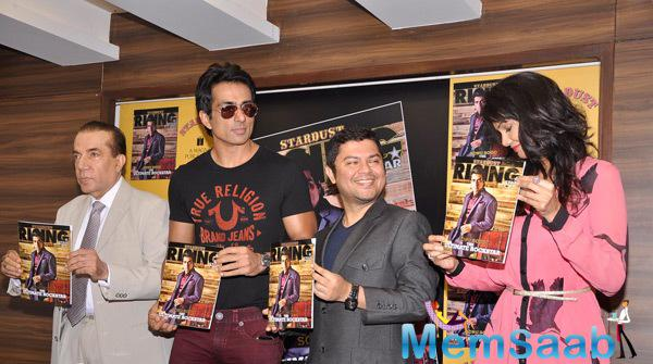 Sonu Sood Unveils Latest Rising Star Magazine Cover