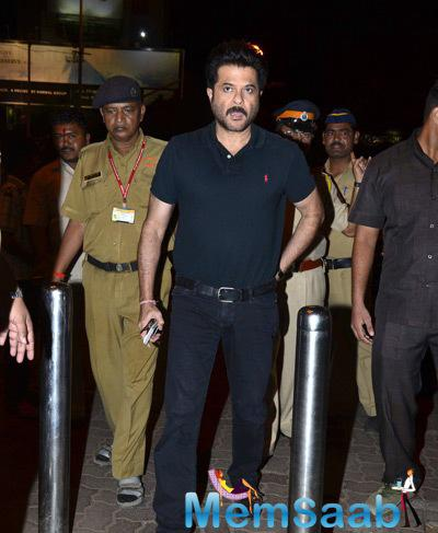 Anil Kapoor Spotted During He Arrived To Siddhivinayak Temple