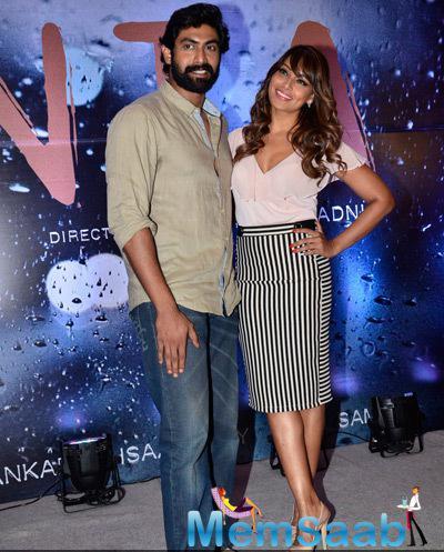 Rana Daggubati And Bipasha Basu Posed At Vikram Phadnis Debut Film NIA Announcement Press Meet