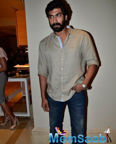 Rana Daggubati Cool Pose For Camera During Vikram Phadnis Debut Film NIA Announcement Press Meet