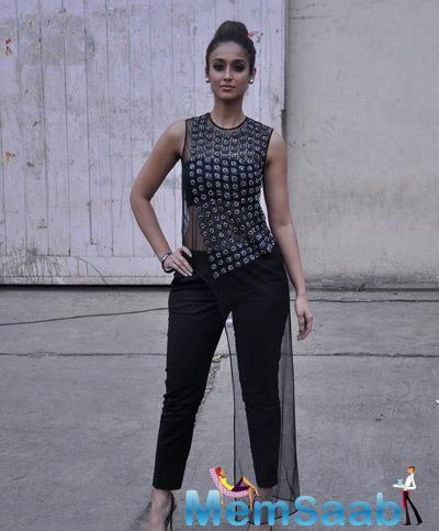 Ileana D'Cruz Strikes A Pose During The Promotion Of Happy Ending