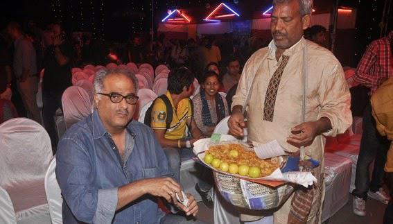 Boney Kapoor Buys Some Peanuts To Munch On