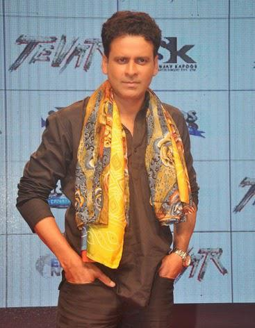Manoj Bajpai Posed For Camera During Tevar Movie Trailer Launch