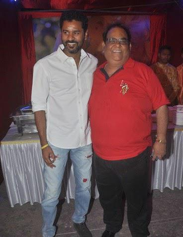 Prabhu Deva And Satish Kaushik Cool Pose During The Trailer Launch Of Tevar Movie