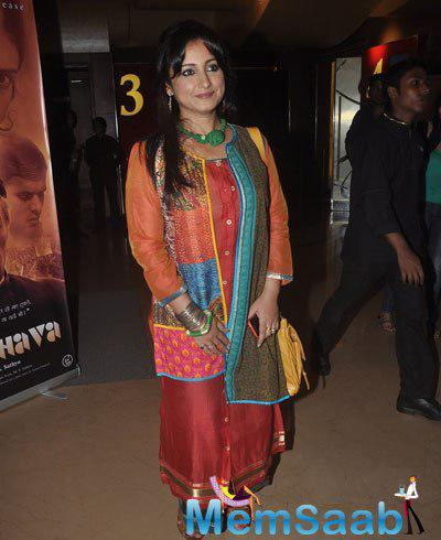 Divya Dutta Attend The Screening Of Garam Hawa Film