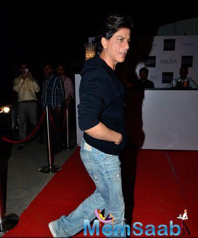 Shah Rukh Khan Arrived Gauri Khan Champagne Evening With Raj Anand Of Maison & Objet Show