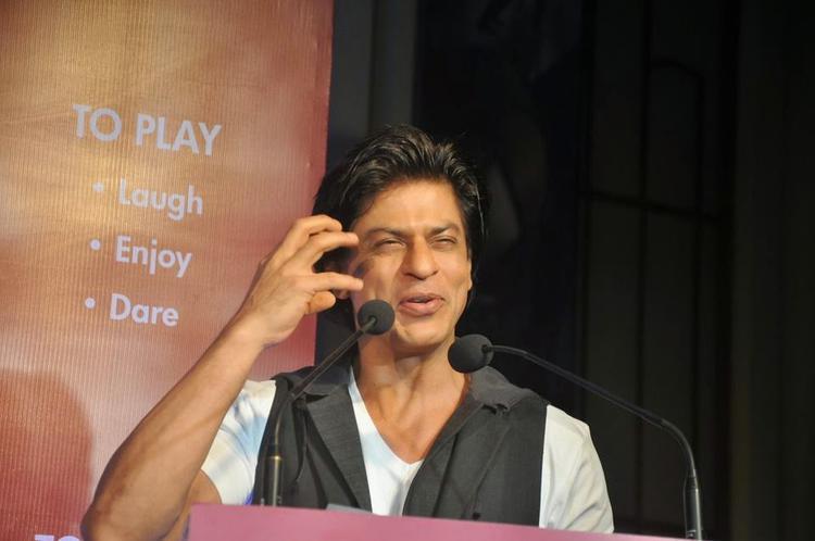 Shah Rukh Khan Interact With Media During The Launch Of Of Kidzania Mumbai