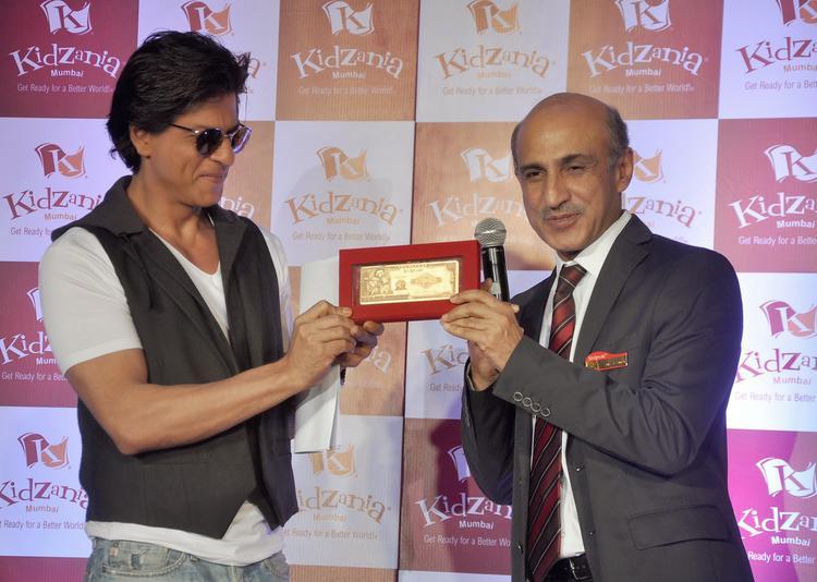 Shah Rukh Khan At The Launch Of Kidzania Mumbai Celebrate Children Month