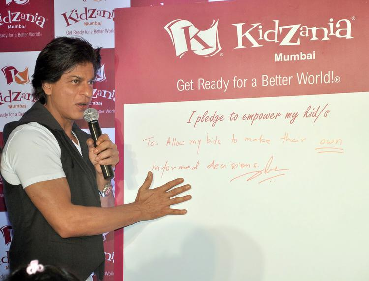 Shah Rukh Khan Launched Education And Entertainment Comcraft's Kidzania