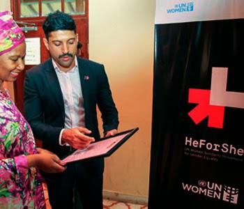 Farhan Akhtar Launched UN Women's 'Heforshe' Campaign And Became The First Male Goodwill Ambassador For South Asia