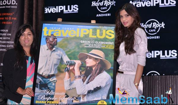 Diana Penty Unveils The November Issue Of Travel Plus Magazine Cover