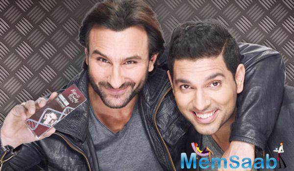 New Fair & Lovely TVC Ad Featuring Saif Ali Khan And Yuvraj Singh