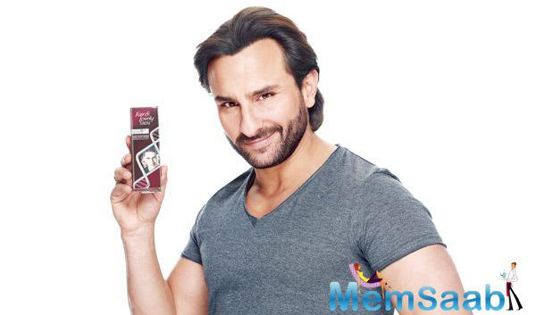 Saif Ali Khan Dazzling Face Look In Fair & Lovely TVC Ad