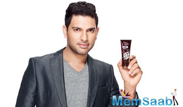 Yuvraj Singh Cool Stunning Look In Fair & Lovely TVC Ad
