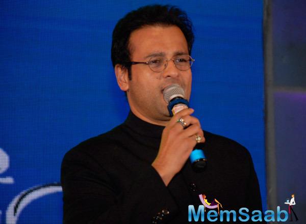Rohit Roy Interact With Media At Lalitya Munshaw Concert