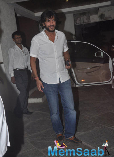 Chunkey Pandey Arrived 12th Wedding Anniversary Of Sonali Bendre