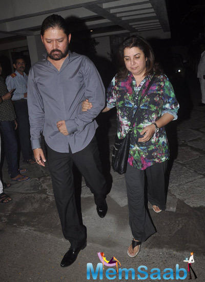 Farah Khan Attend The 12th Wedding Anniversary Of Sonali Bendre