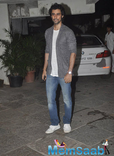 Kunal Kapoor Snapped During 12th Wedding Anniversary Of Sonali Bendre