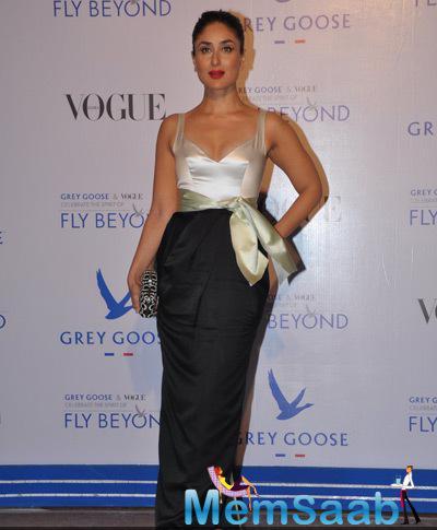 Kareena Kapoor Khan Glamour Hot Look At Grey Goose Fly Beyond Awards 2014