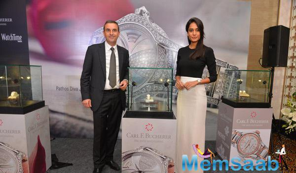 Jerome Riff And Lisa Haydon Launches Carl F. Bucherer Pathos Collection
