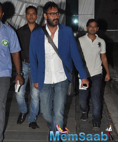 Ajay Devgan Casual Look At Mumbai Airport