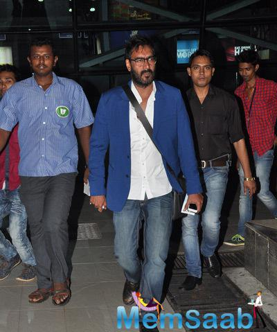 Ajay Devgan Spotted At Mumbai international Airport