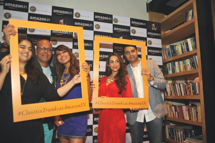 Bipasha Basu,Malaika Arora Khan And Others Clicked At Amazon.In And The Label Corp Exclusive Partnership Event