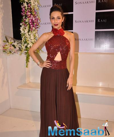 Malaika Arora Khan Gorgeous Look During Sonaakshi Raaj Flagship Store Launch