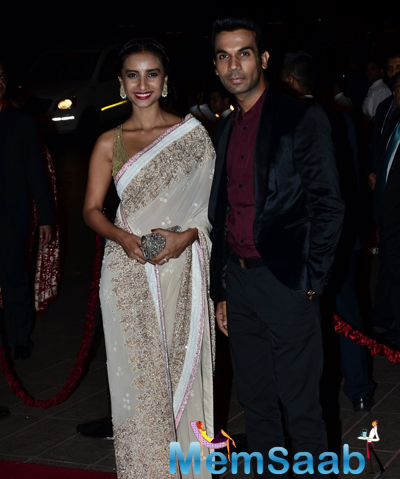 Rajkummar Rao Posed With Patralekha At Arpita Khan And Aayush Sharma Wedding Reception