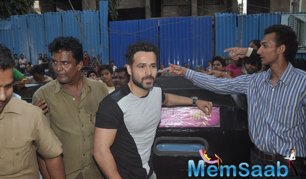 Emraan Hashmi At Promotional Event Of Ungli On The Streets Of Mumbai