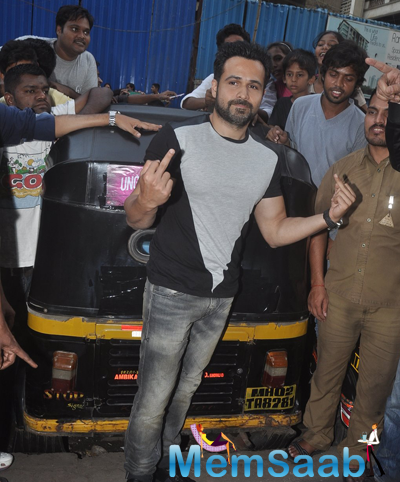 Emraan Hashmi Strikes A Pose For Camera For Promotional Event Of Film Ungli