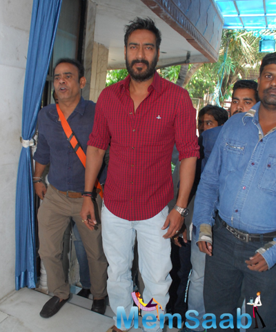 Ajay Devgan Arrived At Event Organised To Honour For His Contribution For Martial Arts In Indian Cinema