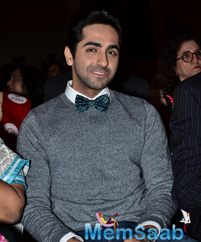 Ayushmann Khurrana Dazzling Face Look During Fertility Enhancement And Management Press Conference
