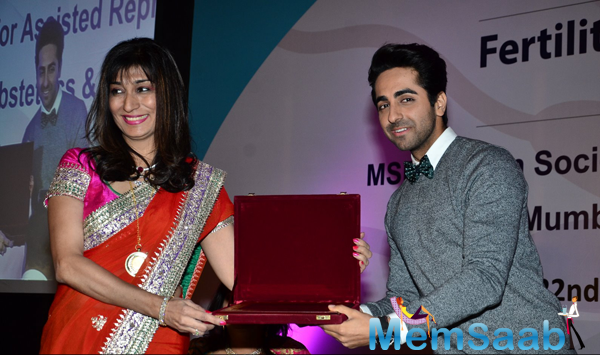 Ayushmann Khurrana Facilitated At Fertility Conference 2014