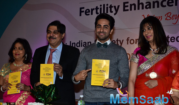 Ayushmann Khurrana Inaugurates Fertility Enhancement And Management Press Conference