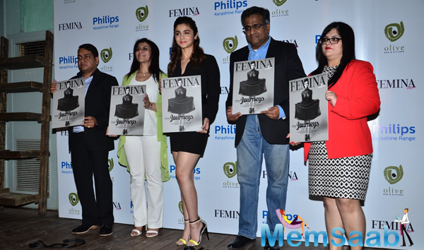 Alia Bhatt Unveils The Cover Page Of Femina Magazine 55th Edition