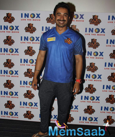 Rannvijay Singh Flashes Smile At The Chandigarh BCL Press Meet