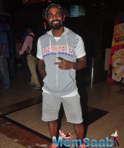 Remo D'Souza Strikes A Pose During Radha Nachegi Song Launch From Tevar