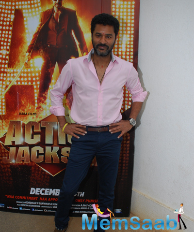 Prabhu Deva Launches Action Jackson Film Theme Song