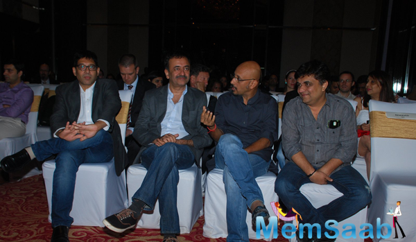Rajkumar Hirani Cool Discussion During The Press Meet Of PK Movie
