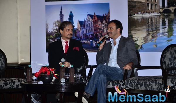 Rajkumar Hirani Interacted With Media During The Press Meet Of PK Movie