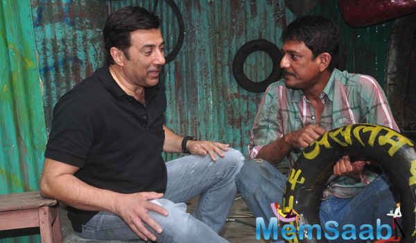 Sunny Deol At Promotional Event Of His Upcoming Movie Zed Plus With Adil Hussain
