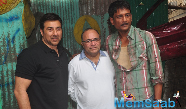 Sunny Deol,Chandraprakash Dwivedi And Adil Hussain Promoted Zed Plus Movie