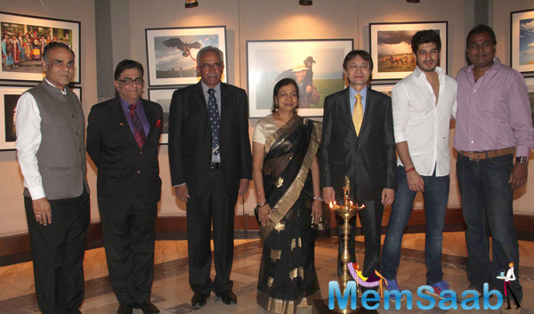 Mohit Marwah And Other Celebs Posed At Mongolia Day By Shantanu Das