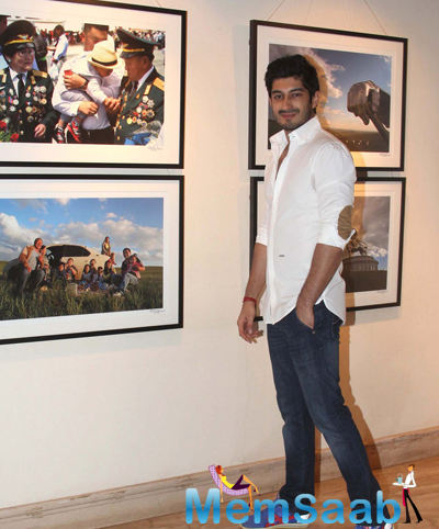 Mohit Marwah Strikes A Pose During Mongolia Day By Shantanu Das