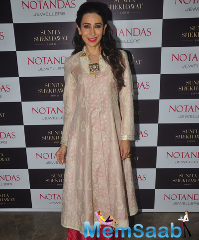 Karisma Kapoor Launched The Notandas Jewellers Store